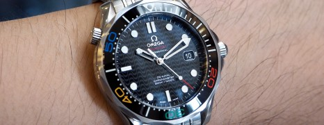 """Omega Seamaster Diver 300M OLYMPIC COLLECTION """"RIO 2016″ LIMITED EDITION 41 mm"""