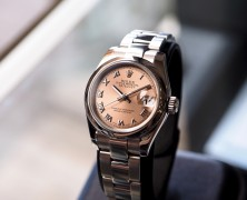 Rolex Datejust Lady Champagne Roman Dial 26 mm REF.179160 Series Z