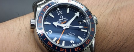 Omega Seamaster Planet Ocean 600m GMT Goodplanet Edition 43.5 mm