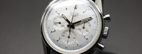 Heuer Classic Carrera 1964 Re-edition Silver Dial 36 mm