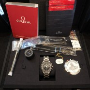 Omega Speedmaster MoonWatch Professional Chronograph 1863 Black Dial 42 mm (NIB)