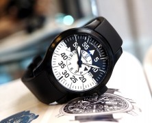 Fortis Flieger Cockpit GMT Limited Automatic Black White Dial 42 mm (Limited 2012 เรือน)