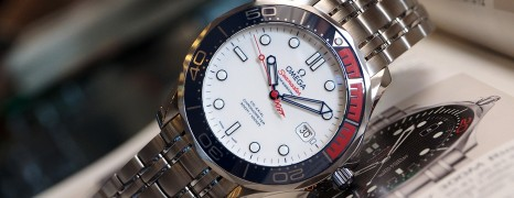 "Omega Seamaster Diver 300M ""Commander's Watch"" (007) Limited Edition 41 mm"