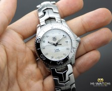 Tag Heuer Link Quartz White MOP Diamond 39 mm