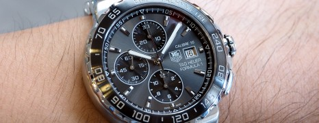 Tag Heuer F1 Automatic Chronograph Calibre 16 Grey Ceramic 44 mm