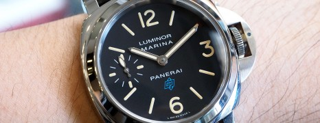 Panerai 631 Luminor Blue Logo 44 mm S.S (New In Box)