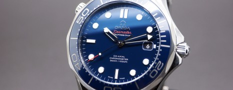 Omega Seamaster Diver 300 m Automatic Co-Axial Blue Ceramic Dial 41mm