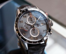 Tag Heuer Carrera Automatic Chronograph Calibre 1887 Grey Dial 43 mm