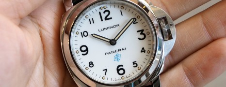 Panerai 630 Luminor White Dial Blue Logo 44 mm S.S (New In Box)