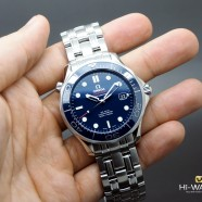 Omega Seamaster Diver 300 m Automatic Co-Axial Blue Ceramic Dial 41 mm