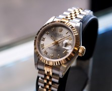 Rolex Datejust Lady Jubilee Two Tone 18K Grey Dial REF.69173