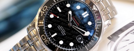 "Omega Seamaster Diver 300M Co-Axial ""James Bond 50th anniversary"" Limited Edition 41 mm"