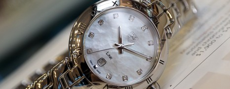 Tag Heuer Link Lady Quartz White MOP Diamond 29 mm