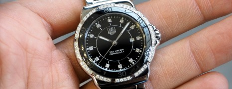 Tag Heuer F1 Lady Black Ceramic Full Diamond 32 mm