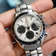 Omega Speedmaster Auto Chronograph Date Panda Dial 40 mm (Japan Limited 1957)