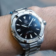 Tag Heuer Aquaracer Automatic Calibre 5 Black Dial 40.5 mm