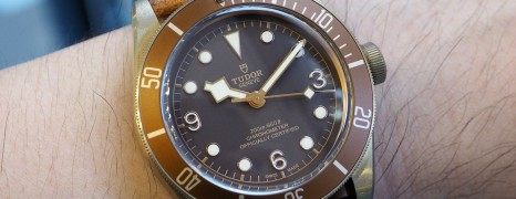 Tudor Heritage Black Bay Bronze 43 mm NIB