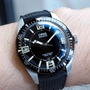 Oris Divers Sixty-Five Black Dial 40 mm