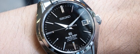Grand Seiko Hi-Beat 36000 Black Sunray Dial 40 mm SBGH005