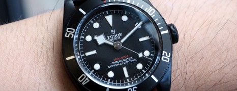 Tudor Heritage Black Bay Dark 41 mm