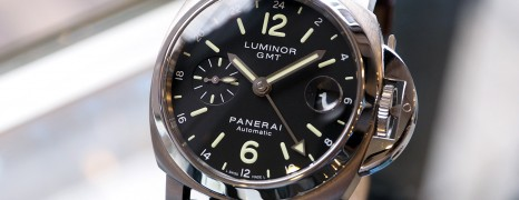Panerai 244 Luminor Auto GMT 40 mm S.O
