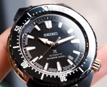 Seiko Prospex Scuba Transocean 200M Black Zirconia Made in Japan 45 mm