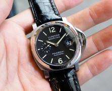Panerai 48 Luminor Black Dial 40 mm S.Q