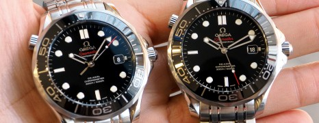 Omega Seamaster Diver 300 m Automatic Co-Axial Black Ceramic Dial 41 mm
