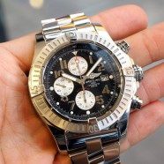 Breitling Super Avenger Automatic Chronograph Black Dial 48 mm