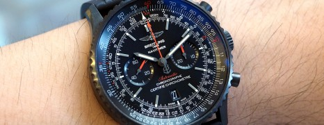 Breitling Navitimer 01 Blacksteel Automatic Chronograph 46 mm