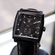 Tag Heuer Monaco Automatic Calibre 6 Full Black 37 mm