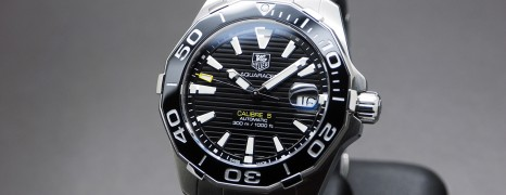 Tag Heuer Aquaracer 300M Automatic Calibre 5 Black Ceramic 41 mm