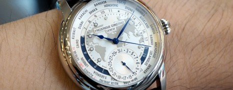 Frederique Constant Worldtimer 42 mm (NIB)
