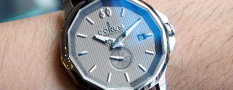 Corum Admiral's Cup Legend Grey Dial 42 mm