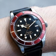 Tudor Heritage Black Bay Red 41 mm