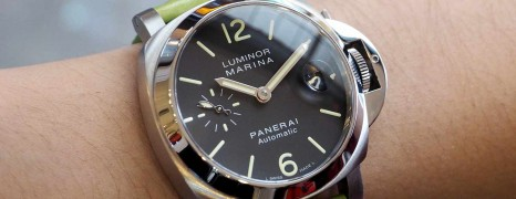 Panerai 48 Luminor Black Dial 40 mm S.O