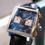 Tag Heuer Monaco Automatic Chronograph Calibre 12 Blue Dial 39 mm