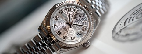 Rolex Datejust Lady Silver Concentric Dial 31 mm REF.178240