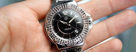 Tag Heuer Formula 1 Quartz Lady 120 Black Diamonds 37 mm