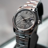 Rolex Datejust Lady Grey Floral Dial 31 mm Ref.178240