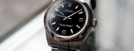 Rolex Oyster Perpetual Lady 369 Black Dial 31 mm Ref.177200