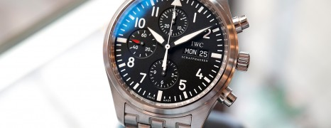 IWC 3717-04 Pilot Chronograph 42 mm