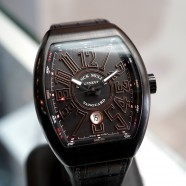 Franck Muller Vanguard Black Titanium and 18k Rose Gold 44 mm Ref.V 45 SC DT TT BR NR 5N