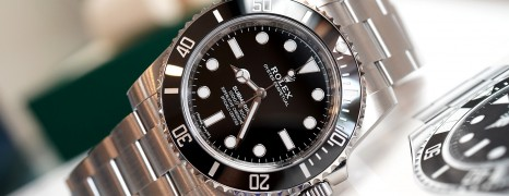 Rolex Submariner No Date Ceramic Ref.114060 40 mm New 05/2018
