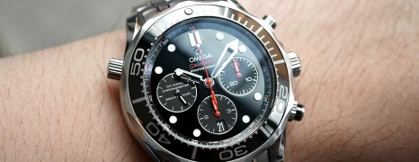 Omega Seamaster Diver 300M Co-Axial Chronograph Black Ceramic 44 mm
