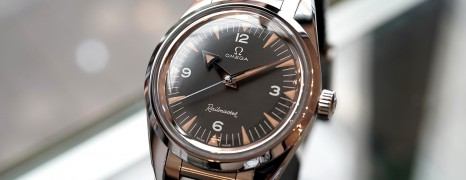 Omega Railmaster 1957 Trilogy 60th Anniversary Co-Axial Master Chronometer 38 mm Limited Edition 3,557 เรือน
