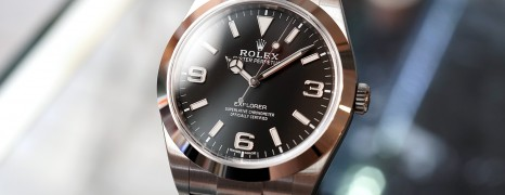 Rolex Explorer I 39 mm Ref.214270 (New 2018)