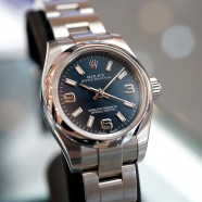 Rolex Oyster Perpetual Lady Blue Dial 26 mm Ref.176200
