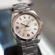 Rolex Oyster Perpetual Air-King Silver Dial 34 mm Ref.114200 Series M