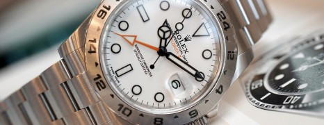 Rolex Explorer II Orange Hand White Dial 42 mm Ref.216570
